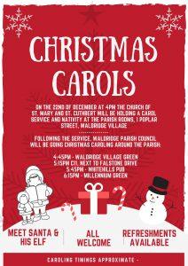 Christmas Carols @ Waldridge Parish Rooms