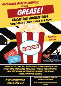 Waldridge Parish Council presents... GREASE! @ The Millennium Green
